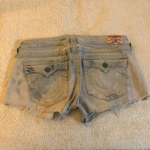 Cut off true religion faded size 31
